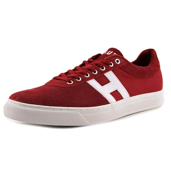 HUF Soto Men Round Toe Suede Red Skate Shoe