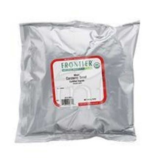 Frontier Herb Organic Caraway Seed Whole - 1 Pound Bulk Bag