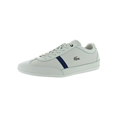 Lacoste Mens Misano 318 1 Casual Shoes Leather Ortholite