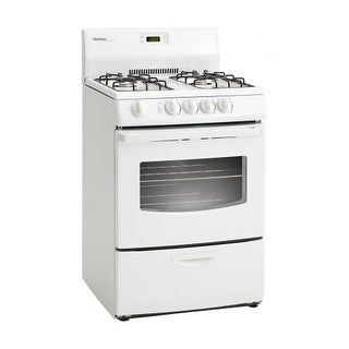 Danby DR241 24 Inch Wide 3 Cu. Ft. Capacity Free Standing Gas Range with Viewing