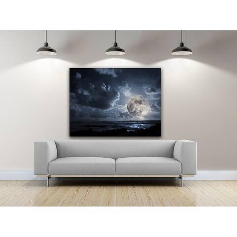 Porch & Den 'Moonlight Flairs' Photography Canvas Art
