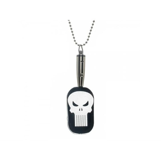 Marvel Punisher LED Dog Tag