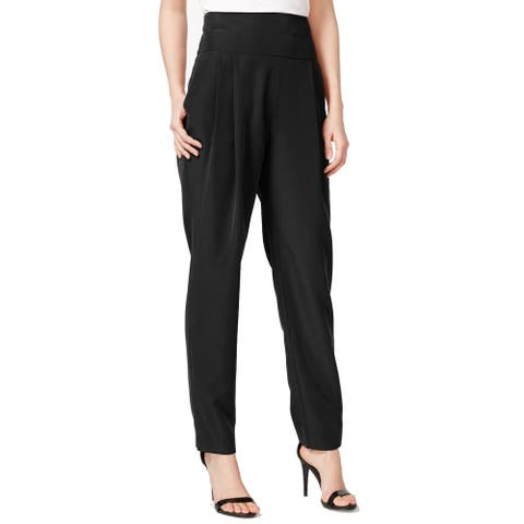Rachel Roy Pleated High-Rise Tuxedo Pants Size 0
