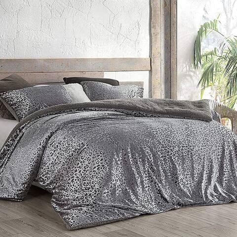 Primal Leopard - Coma Inducer Oversized Comforter - Silver Black