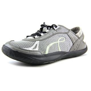 Kalso Earth Prosper Women  Round Toe Canvas Silver Walking Shoe