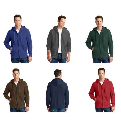 One Country United Heavy Weight Full Zip Hooded Sweatshirt