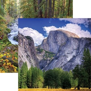 """National Parks Double-Sided Cardstock 12""""X12""""-Yosemite"""