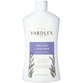 Yardley London Luxurious Hand Soap Refill, Flowering English Lavender 16 oz