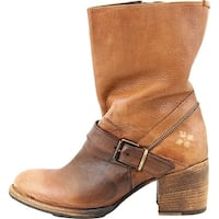Patricia Nash Womens Lombardy Leather Almond Toe Mid-Calf Fashion Boots