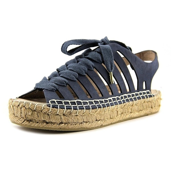 Seven Dials Womens Wylie Peep Toe Casual Espadrille Sandals