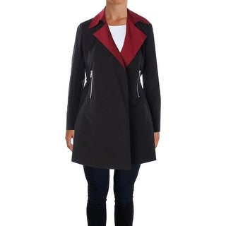 Lafayette 148 Womens Jacket Collar Long Sleeves