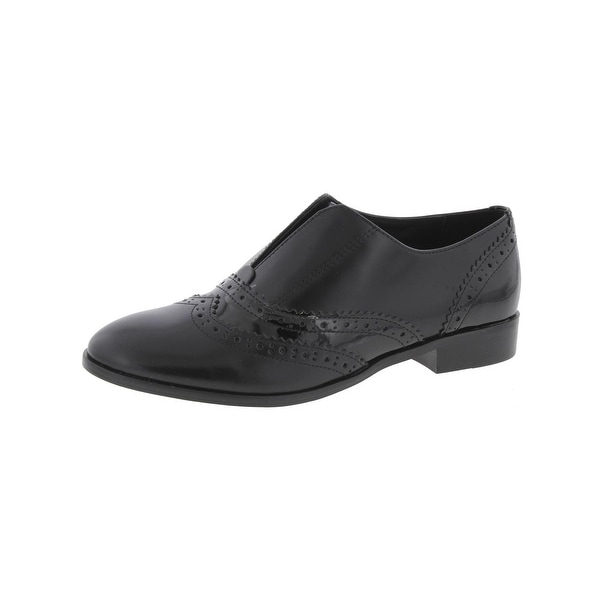 Steven By Steve Madden Womens Alvanah Oxfords Leather Brogue