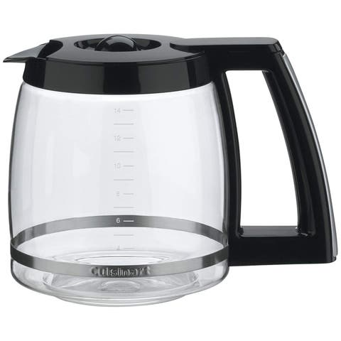 Coffeemaker Carafe 14-cup Replacement Carafe (Black)