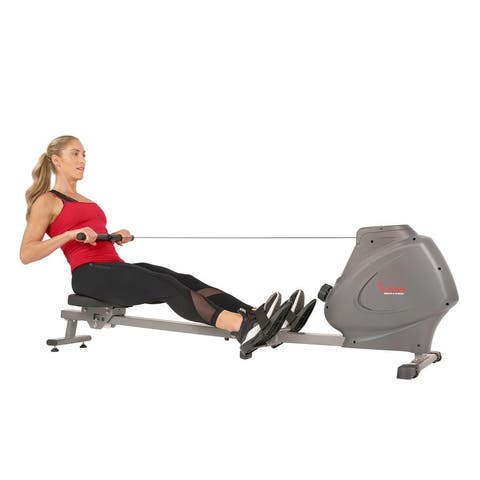 Sunny Health & Fitness Magnetic Rowing Machine Rower SF-RW5801