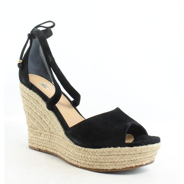 0b464619564 Shop UGG Womens Reagan Black Espadrilles Size 10 - Free Shipping ...