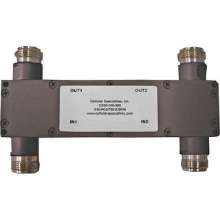 Cellular Specialties - 700-2500 MHz 3dB Hybrid Coupler