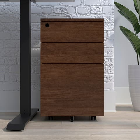 HON Basyx Commercial-grade Mobile Filing Cabinet