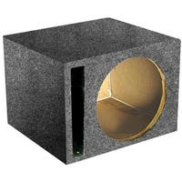 Qpower QSBASS12 12 in. Slot Ported Empty Woofer Box