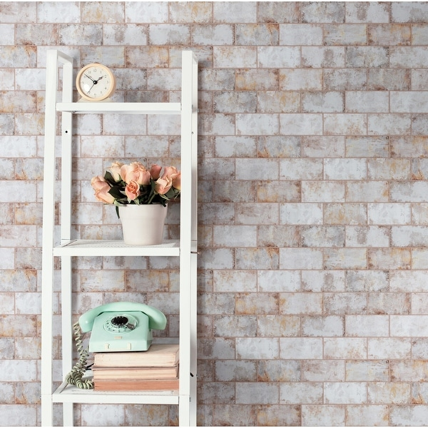 "SomerTile Biarritz Beige 3"" x 6"" Ceramic Wall Tile. Opens flyout."