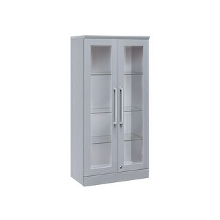 NewAge Products Home Bar Series Tall Wall Cabinet