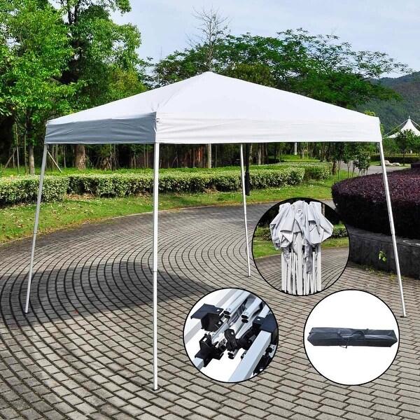 Giantex 8 X27 X8 Ez Pop Up Wedding Party Tent Folding