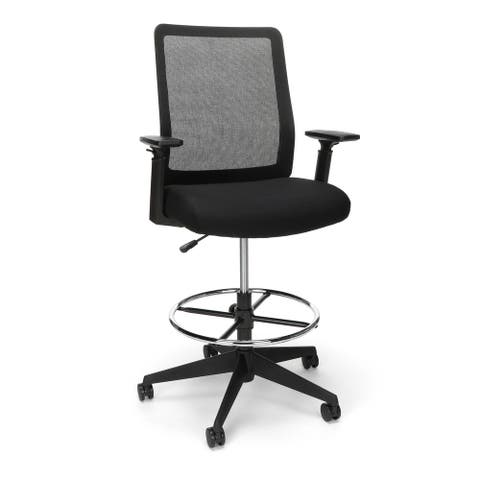 HON Basyx Biometryx Commercial-Grade Mesh Back Stool, Office Chair (BSX157)
