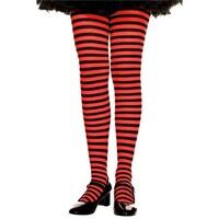a7c19a960e2f1 Shop 270-BLK-WHT-XL Girls Striped Tights, Black & White - Extra ...