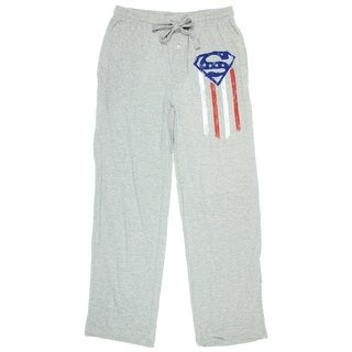 Superman Flag Mens' Sleep Pants
