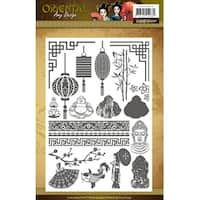 Find It Trading Amy Design Clear Stamps-Oriental