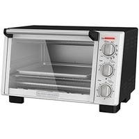 Black & Decker TO2055S Black Decker Toaster Oven - Silver, Black - Stainless Steel