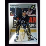 Signed Lipuma Chris Atlanta Knights 1993 Classic Games Hockey Card autographed