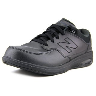 New Balance MW813 B Round Toe Leather Walking Shoe