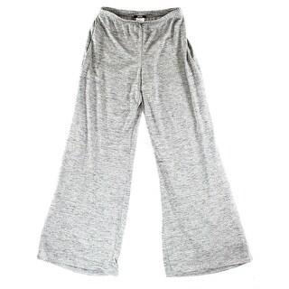MSK NEW Silver Glitter Women's Size XL Pull-On Wide-Leg Dress Pants