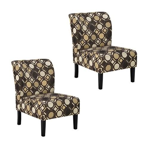 """Tibbee Accent Chair 9910160 (2-Pack) Tibbee Accent Chair - Pebble"""