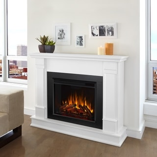 Link to Silverton White Electric Fireplace Similar Items in Fireplaces