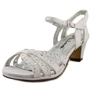 Nina Wendy Open Toe Canvas Sandals