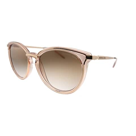 Michael Kors Brisbane MK1077 110813 Womens Gold Crystal Sunglasses