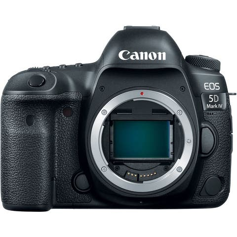 Canon EOS 5D Mark IV DSLR Camera (Body Only) (Intl Model)