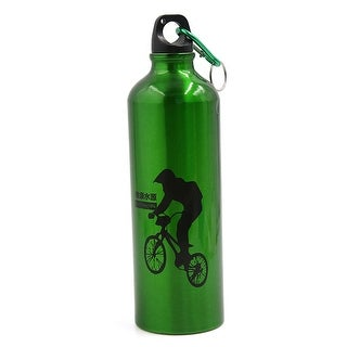Bicycle Bike Outdoor Aluminum Alloy 750ML Water Bottle Kettle Green