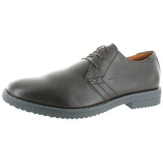 Geox Brandled Men's Lace-Up Oxford Dress Shoes