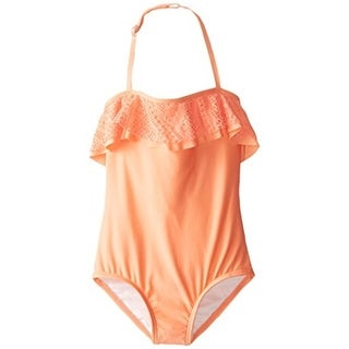 Ella Moss Girls Cut-Out One-Piece Swimsuit - 14