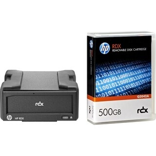HP RDX+ 500 GB Ext Disk Backup System Hard Drive