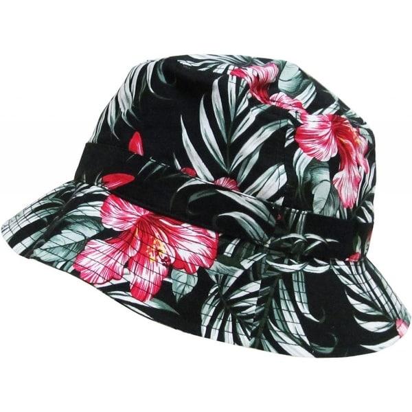 Shop KBETHOS Fashion Bucket Hat Cap - Floral 9cc1e5f6c0c