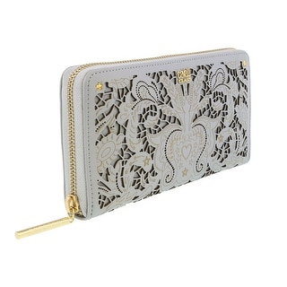 Class Roberto Cavalli Stardust 192 Off White Wallet On a Chain