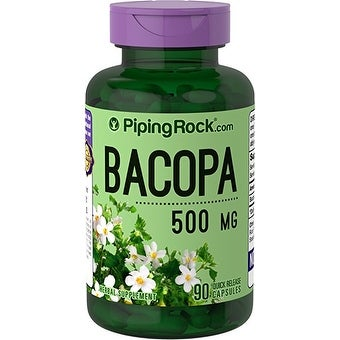 Piping Rock Bacopa 500 mg (90 Quick Release Capsules)