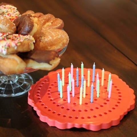 The Birthday Candle Board - A Clean and Germ-Free Way to Celebrate