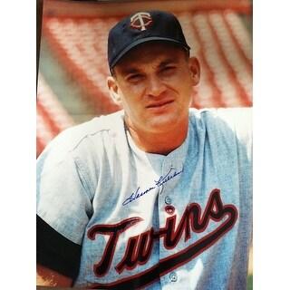 Autographed Harmon Killebrew Minnesota Twins 11x14 Photo
