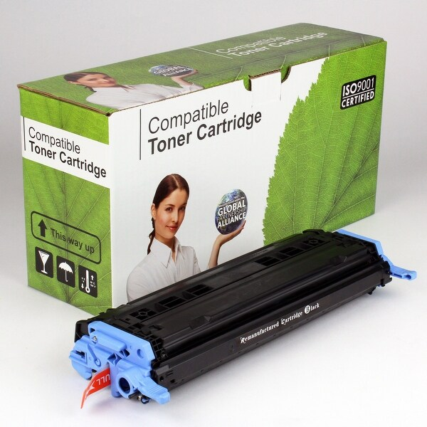 Value Brand replacement for HP 124A Black Toner Q6000A (2,500 Yield)