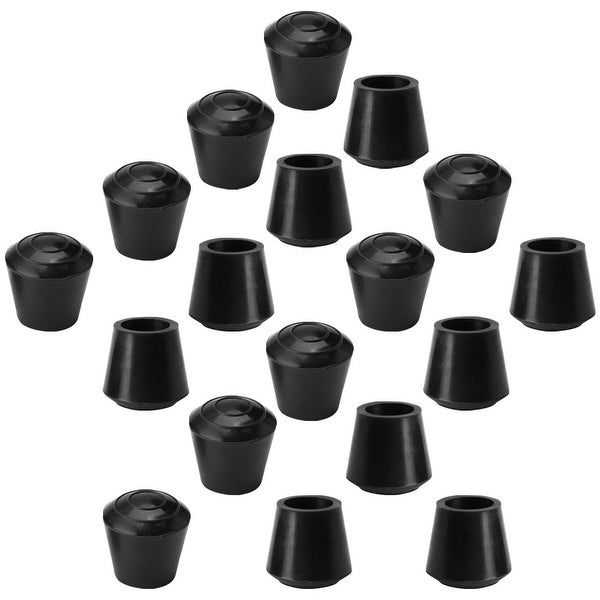 10//18pcs Chair Leg Caps Rubber Feet Protector Furniture Table Cover Round S