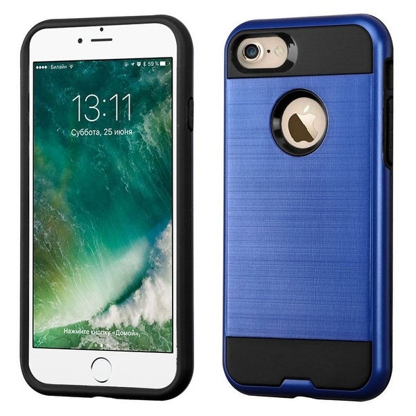 Insten Snap-on Hard Dual Layer Hybrid Case Cover For Apple iPhone 7